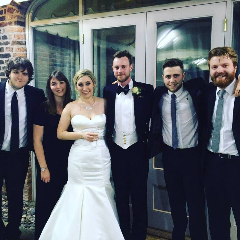 Jukebox Band Cheshire Arley Hall & Gardens Wedding Venue