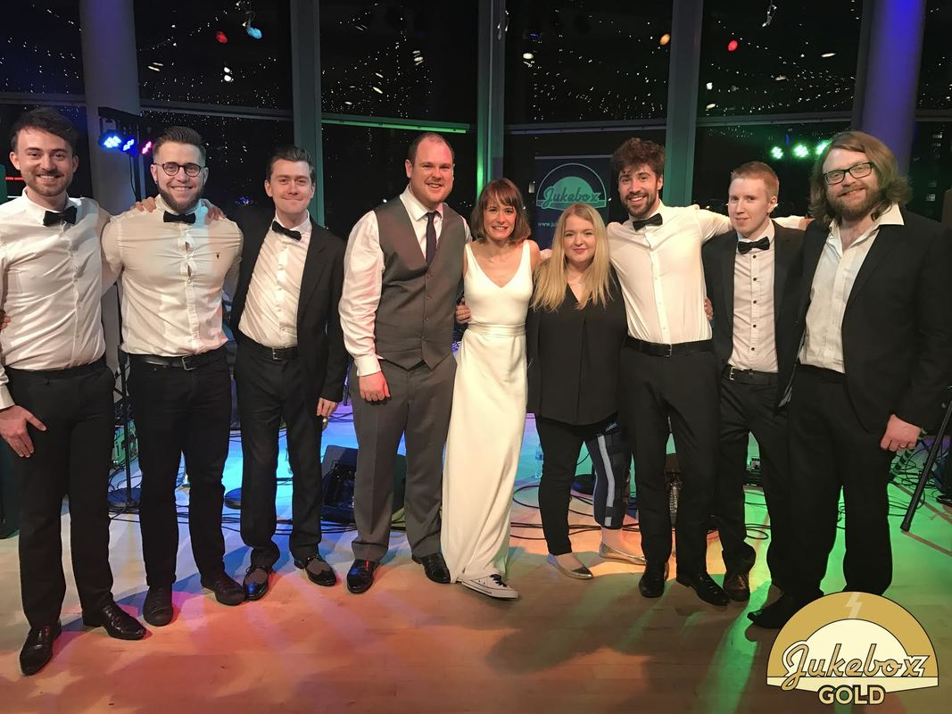 Jukebox Gold Wedding Band The Lowry Manchester Salford 1