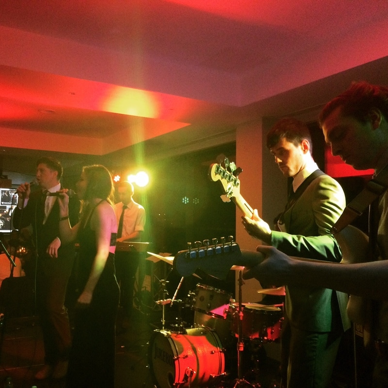 Jukebox Band Manchester Hotel Football Wedding Venue Playing Gig