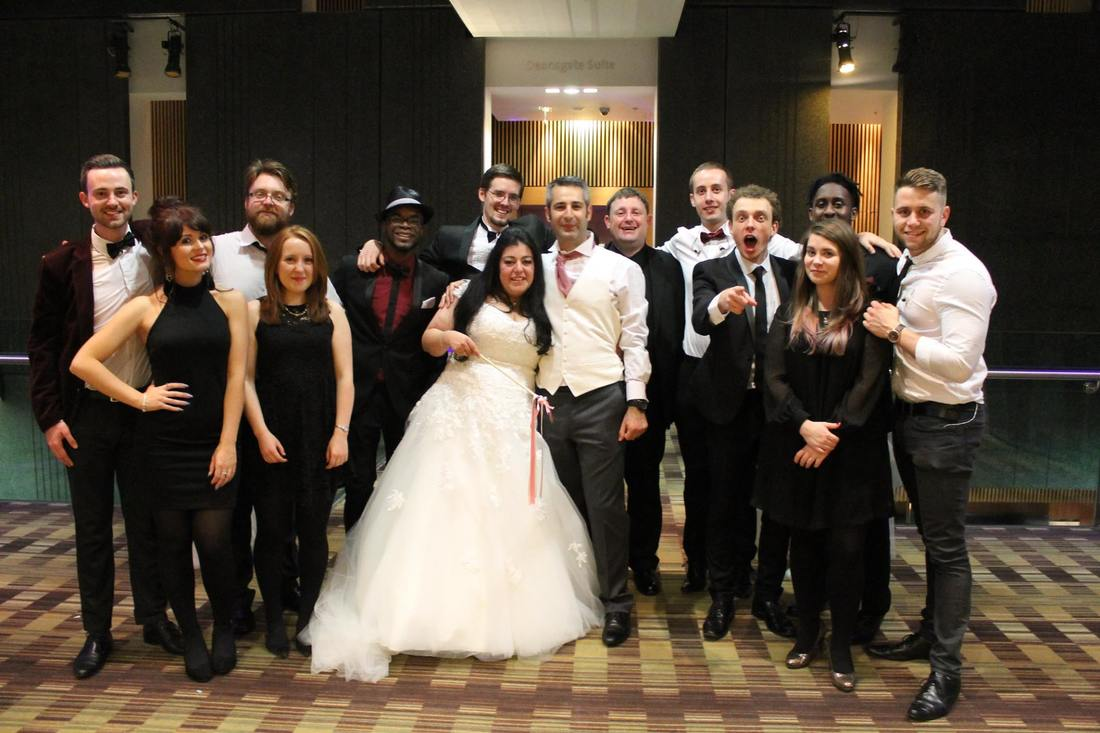 Jukebox Band Manchester Hilton Hotel Deansgate Wedding Venue Post Gig