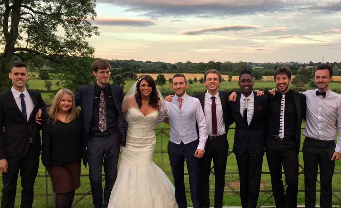 Jukebox Hits played a Beswick Wedding in Staffordshire