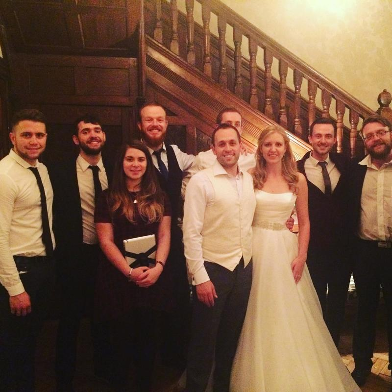 Jukebox Band Cheshire Rowton Hall Wedding Venue