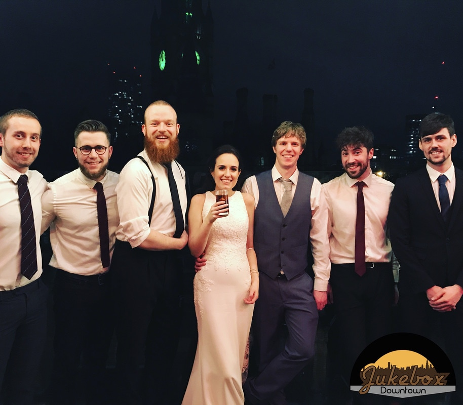 Jukebox Downtown Wedding Band Manchester King Street Town House Hotel
